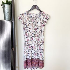 Xhilaration | Women's Summer Dress Floral Medium